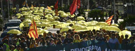 Масштабні протести відрізали Каталонію від решти Іспанії
