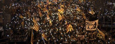 Багатотисячні протести в Барселоні. Влада Іспанії відмовилася від перемовин з каталонцями