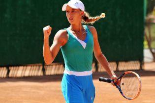 Юная украинская теннисистка триумфовала на соревнованиях в Турции