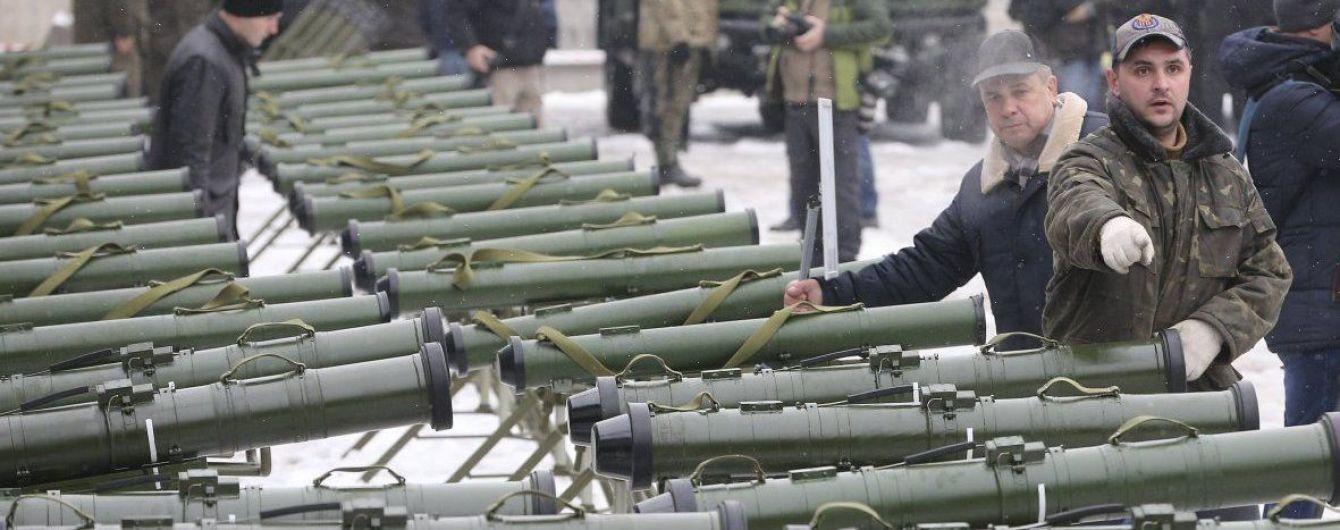 """Українська """"Стугна"""" відлякує сепаратистські танки від передової"""