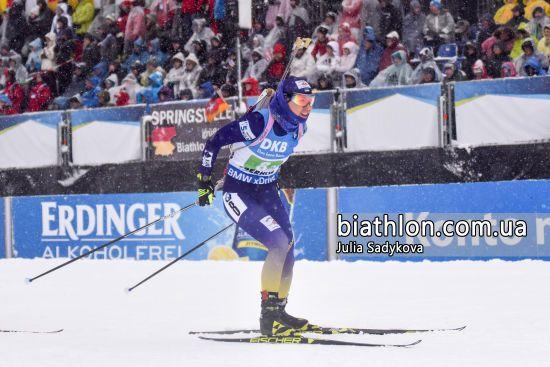 Джима принесла Україні першу медаль на Кубку світу з біатлону-2019/20