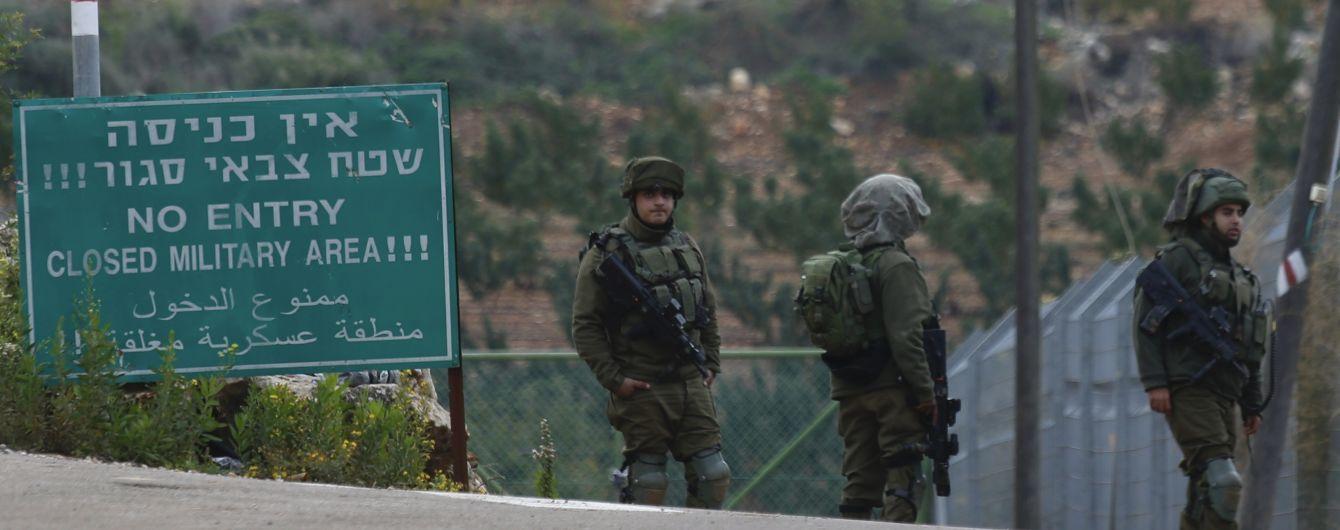 Танки ізраїльської армії атакували два блокпости ХАМАСу