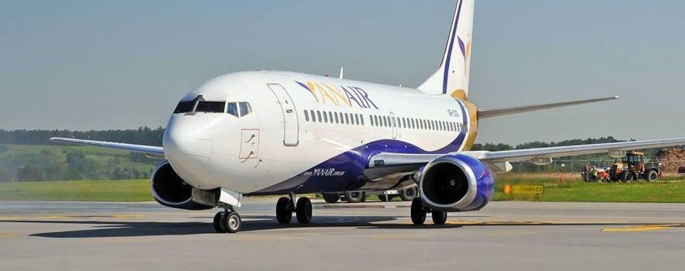 В мае Yanair запустит рейсы из Одессы в Ереван