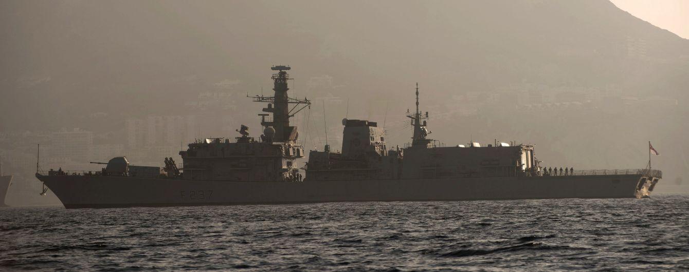 Іспанський флот наказав британським кораблям покинути води Гібралтару