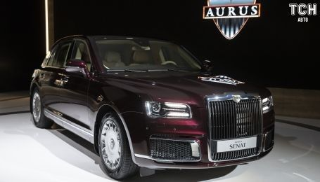 Российский Aurus попал в скандал с Toyota, Lamborghini и Michelin