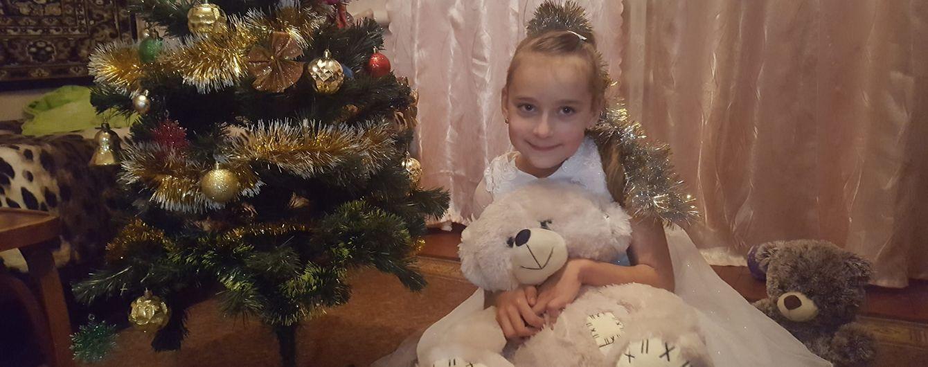 7-річна Сашенька сподівається на допомогу