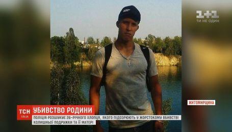 Полиция разыскивает мужчину, подозреваемого в двойном жестоком убийстве на Житомирщине