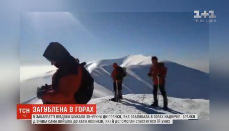 На Закарпатье полсуток искали 35-летнюю днепрянку, которая заблудилась в горах вечером