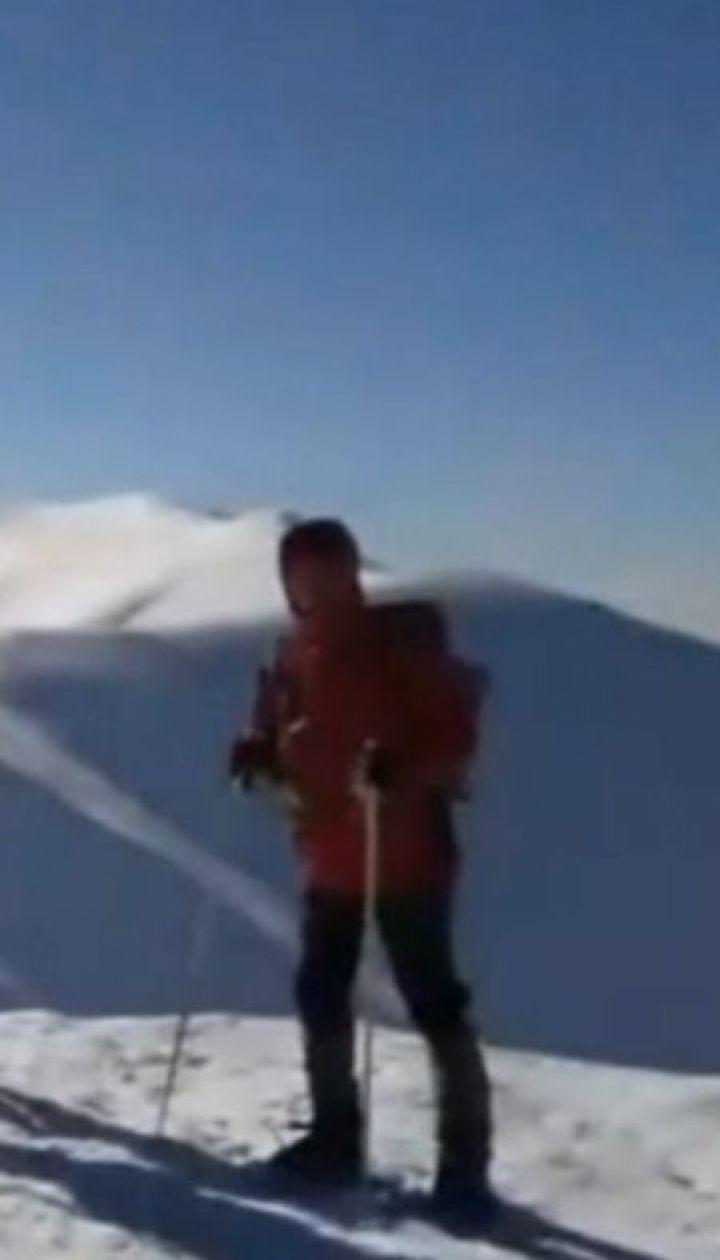 На Закарпатті півдоби шукали 35-річну дніпрянку, яка заблукала у горах надвечір