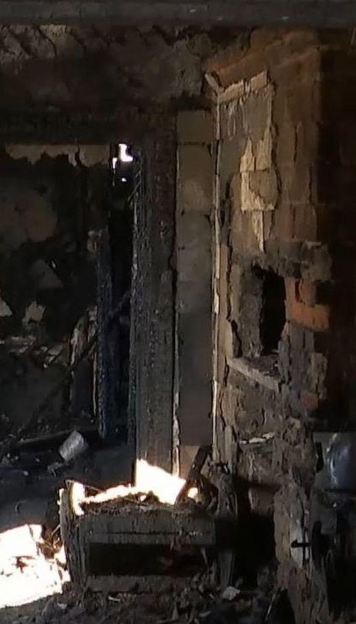 На Чернігівщині через пожежу загинули троє дітей