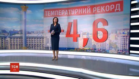 Синоптики зафіксували температурний рекорд у Києві