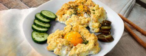 Яйца в облаке