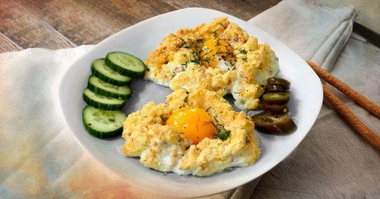 Яйця в хмаринці