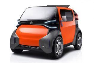 Citroen представить двомісний електрокар Ami One