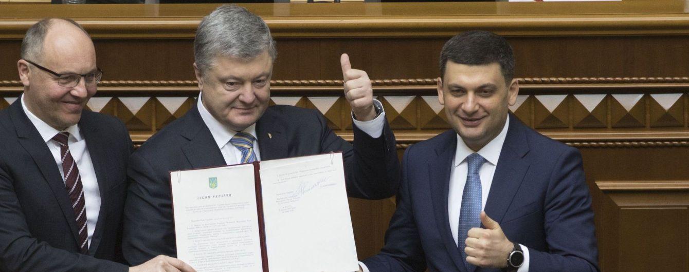 Порошенко підписав закон про курс України на вступ до ЄС і НАТО