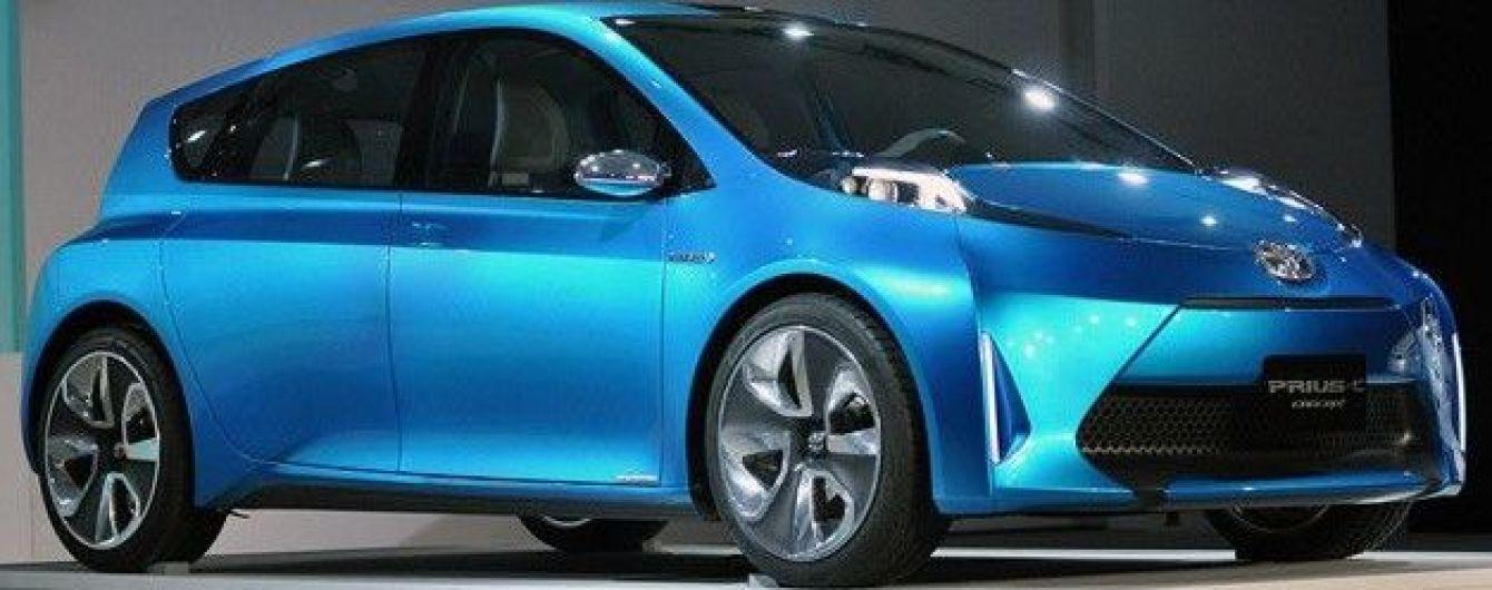 Toyota неожиданно снимает с производства гибрид Prius C