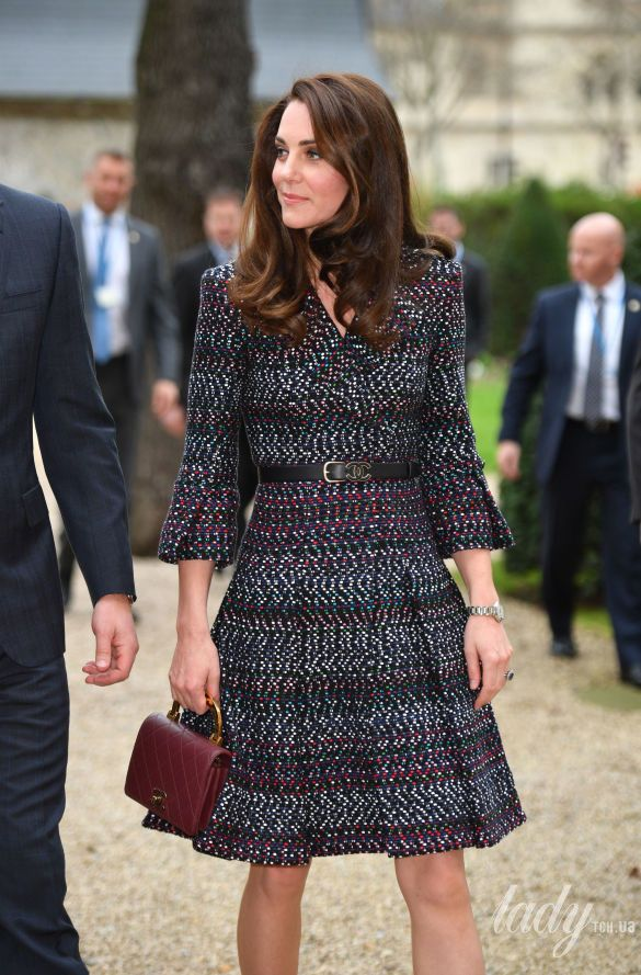 Герцогиня Кембриджская с сумкой Chanel_1