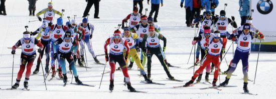 Біатлон. Календар гонок Чемпіонату Європи в Раубичах