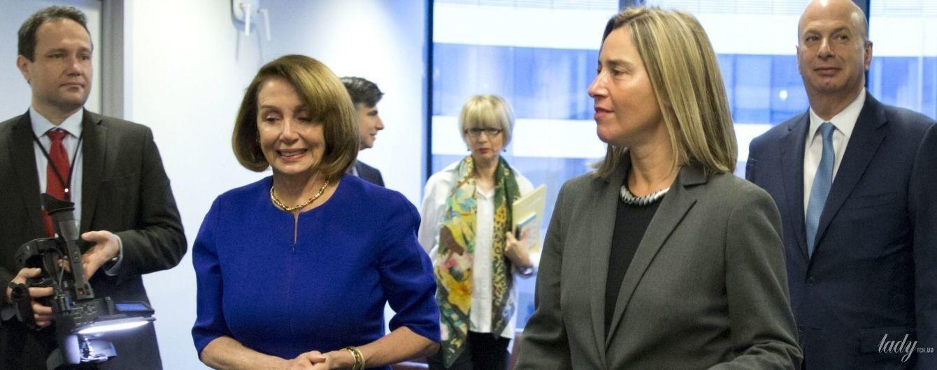 Битва деловых образов: спикер Палаты представителей США vs глава дипломатии ЕС