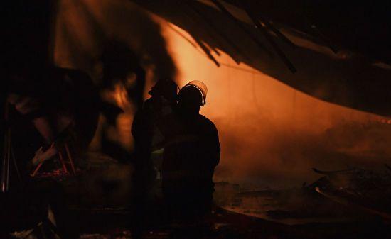 У Полтавській області на нафтобазі сталася пожежа