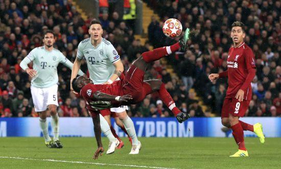 """Ліга чемпіонів. """"Ліверпуль"""" не зміг розпечатати ворота """"Баварії"""" на """"Енфілді"""""""