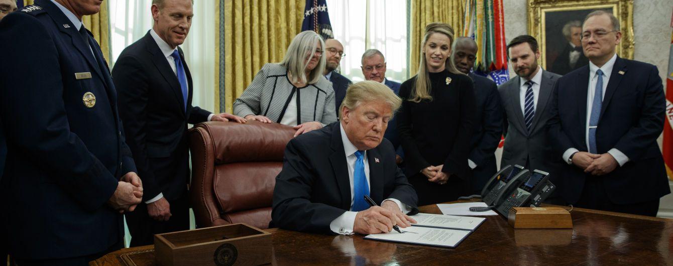 Трамп подписал директиву о создании космических сил ВС США