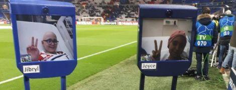 """""""Барселона"""" та """"Ліон"""" допомогли тяжкохворим діткам віртуально потрапити на матч Ліги чемпіонів"""
