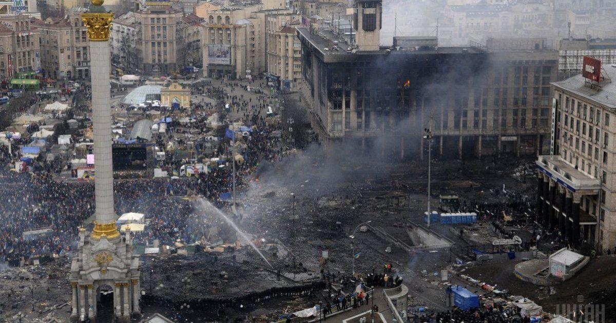 Сьома річниця найкривавішого періоду Революції Гідності: разом з киянами на Майдані Небесну Сотню вшанували білоруси