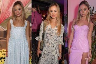 Три стильных выхода Амелии Виндзор: племянница королевы Елизаветы II на Лондонской неделе моды