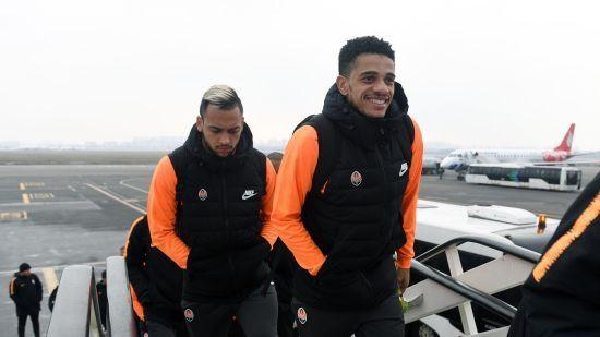 """""""Шахтар"""" полетів до Німеччини боротися за наступний раунд Ліги Європи"""