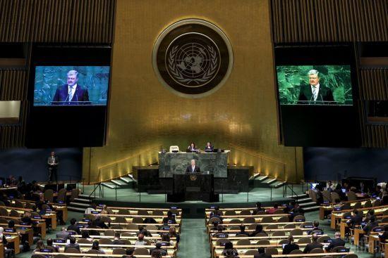 Російська агресія, мілітарізація Криму, повномасштабна війна: повний текст виступу Порошенка на Генасамблеї ООН