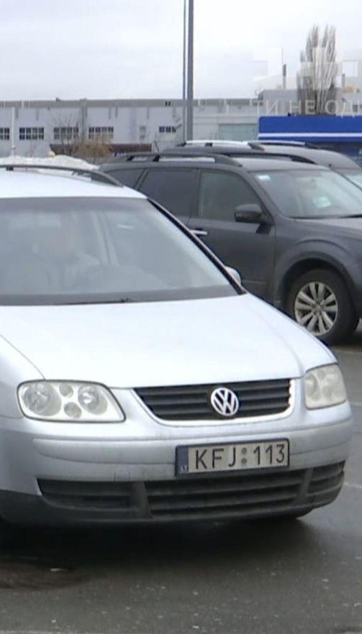 """В Україні водії легалізували кожну шосту """"євробляху"""""""