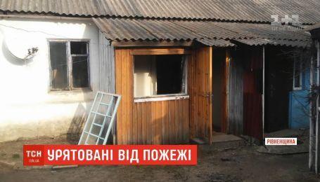 Двое детей чуть не задохнулись в замкнутом доме в Ровенской области