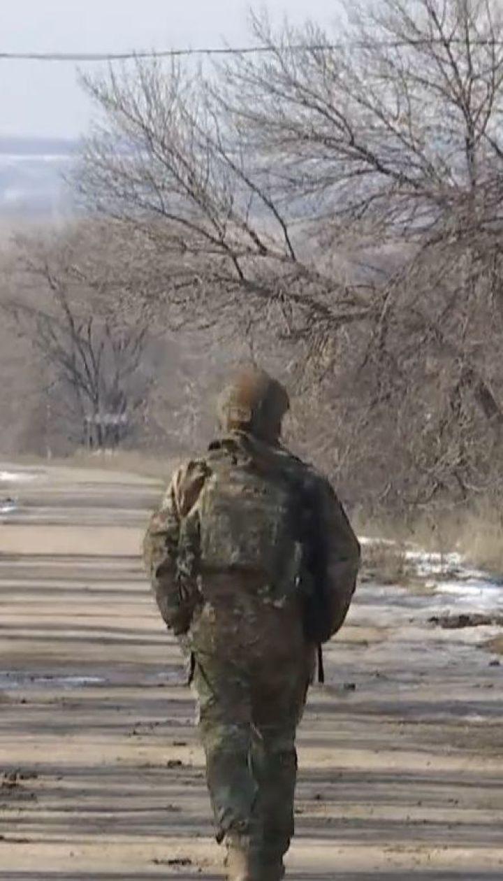 Село Травневое - под огнем вражеских минометов и пушек боевых бронемашин