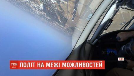 Украинский транспортник продемонстрировал трюки, на которые способны только спортивные или военные самолёты
