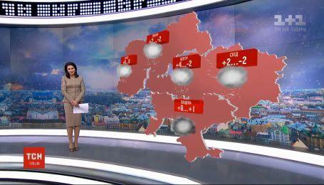 На Украину постепенно движется похолодание