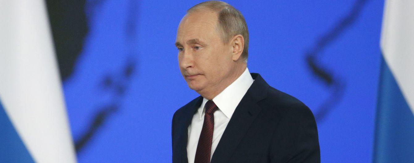 """""""Вони все слухають, бачать і читають"""": Путін виступив за ізоляцію російського Інтернету"""