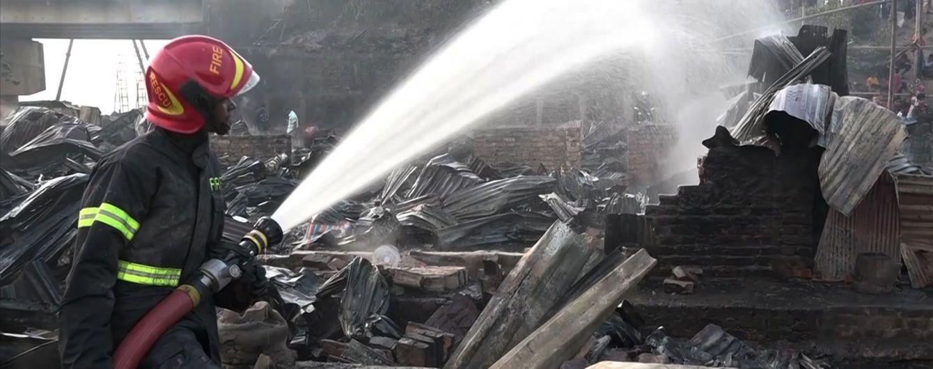 В Бангладеш в страшном пожаре в многоэтажке погибли более полусотни человек