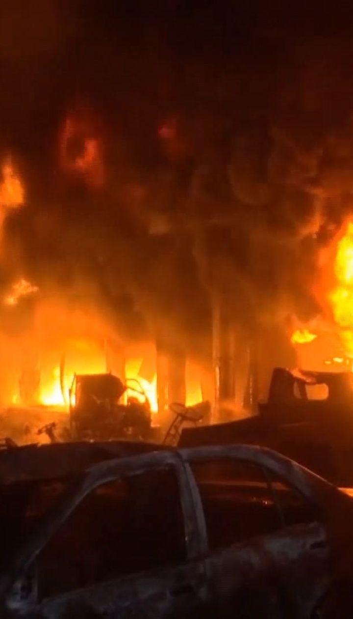 Десятки людей загинули в пожежі в столиці Бангладеш