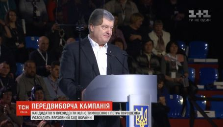 Апеляційний суд відхилив скаргу Тимошенко щодо передвиборчої компанії Порошенка