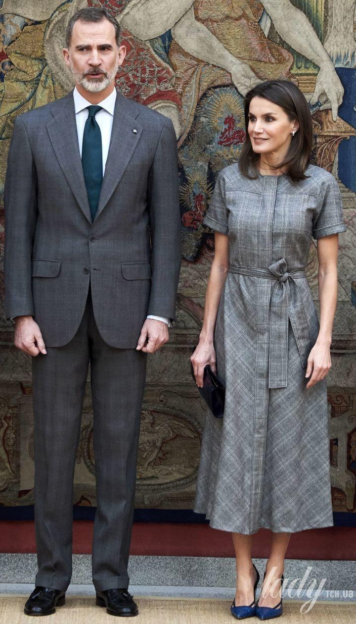 Королева Летиція і король Філіп VI