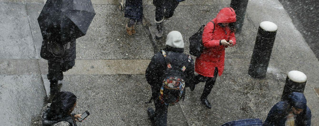 Заморозки та мокрий сніг: у ДСНС попередили про значне погіршення погоди в Україні