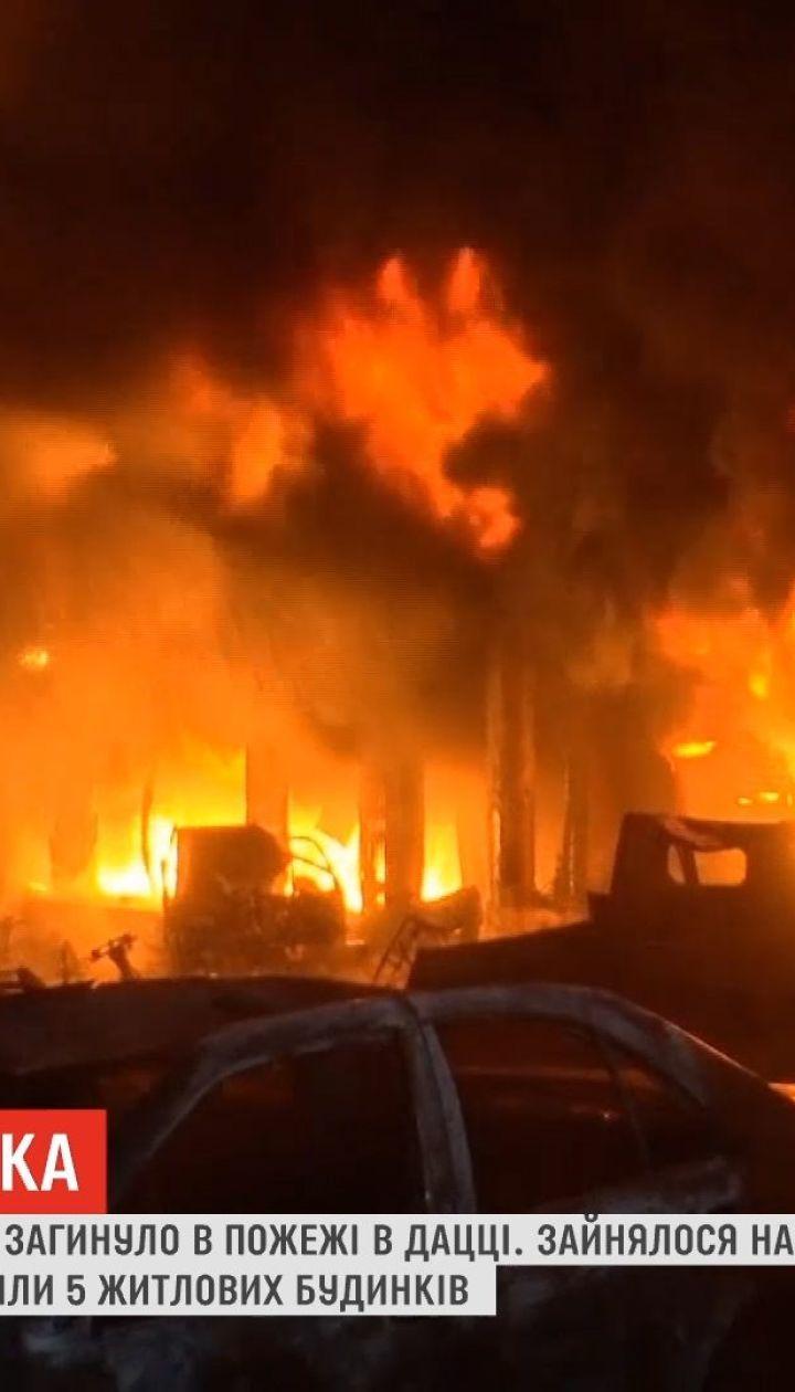 Жертвами пожара в Бангладеш стали по меньшей мере 110 человек