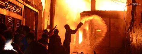 Кількість жертв пожежі в Бангладеш перевалила за сотню