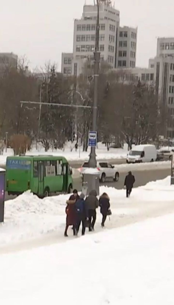 Мокрий сніг та сильний вітер: на Україну суне негода