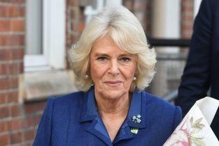 В элегантном синем: герцогиня Корнуольская на новом мероприятии в Лондоне