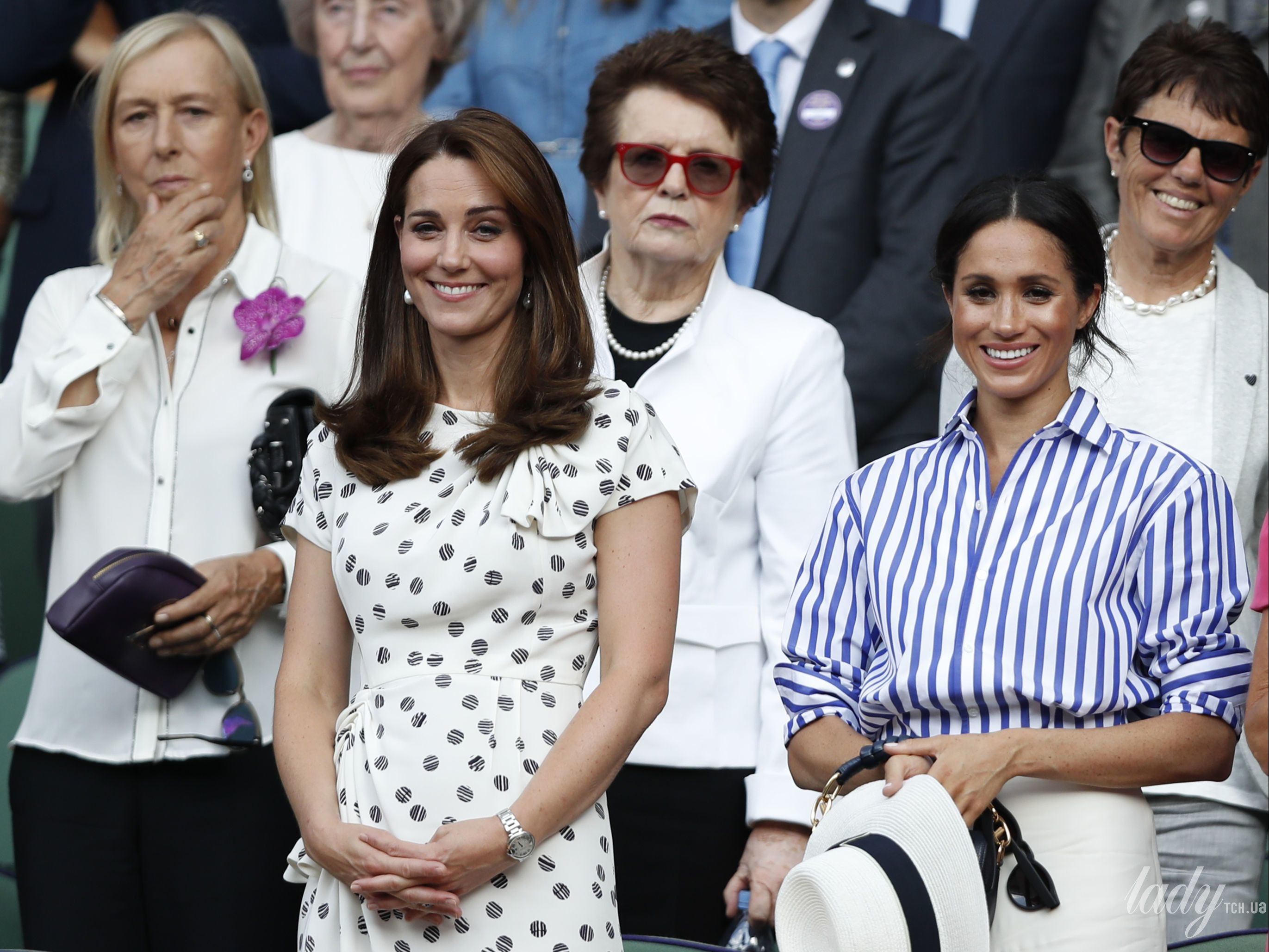 Герцогиня Кейт и герцогиня Меган