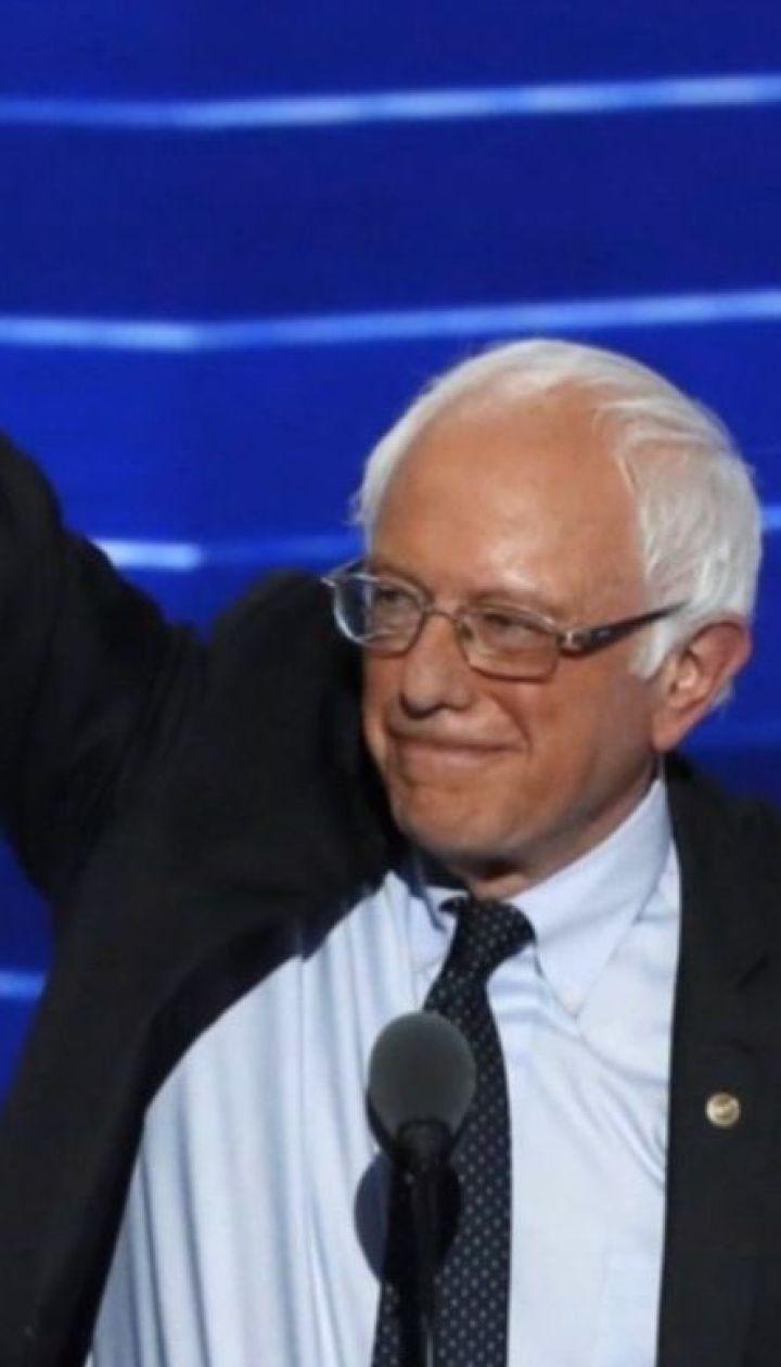 78-летний сенатор Берни Сандерс баллотироваться в президенты США