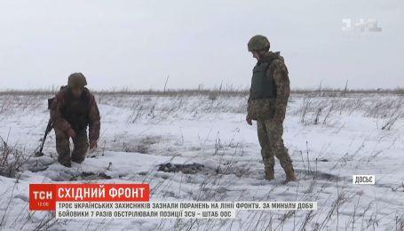 С запрещенного минскими договоренностями оружия боевики били по позициям украинских военных