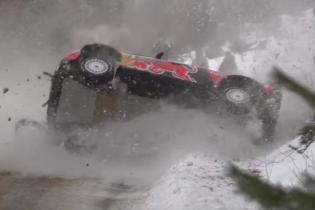 Гонщики на Citroen вырвались в фавориты ралли после жуткой аварии